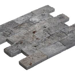 Mosaıc 4,8x10 SplitFace Silver 30*30